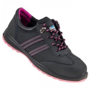 fe9e5e4e URGENT półbuty 214 S1 lekkie damskie buty robocze z gumową podeszwą ...