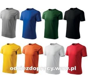 91a5667bafd303 Koszulka ADLER MALFINI 129 T-shirt bawełniany męski, różne kolory od XS do  5XL