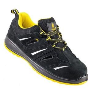 1afa95b4b33b51 URGENT półbuty 206 S1 lekkie przewiewne buty robocze z otworami  wentylującymi