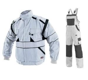 LUXY CXS ubranie robocze bawełniane białe