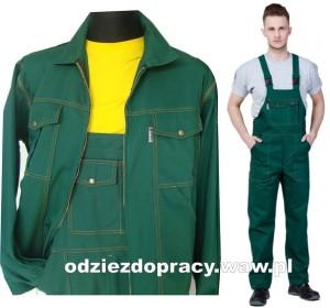 8e1b0815e2990b HETMAN ATLANTA polskie ubranie robocze, bawełna 100% , zielone ...