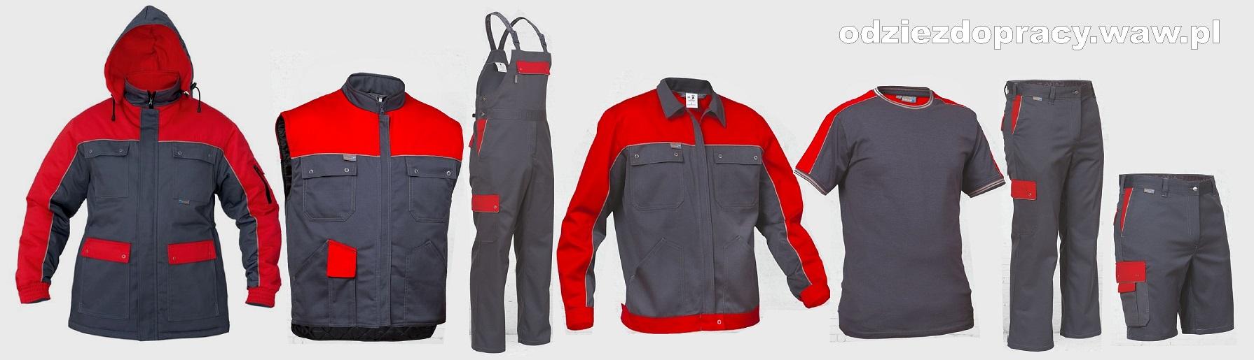005074e879 Kolekcja STERNIK uniwersalne ubrania robocze wysokiej jakości. Sklep z odzieżą  roboczą ...