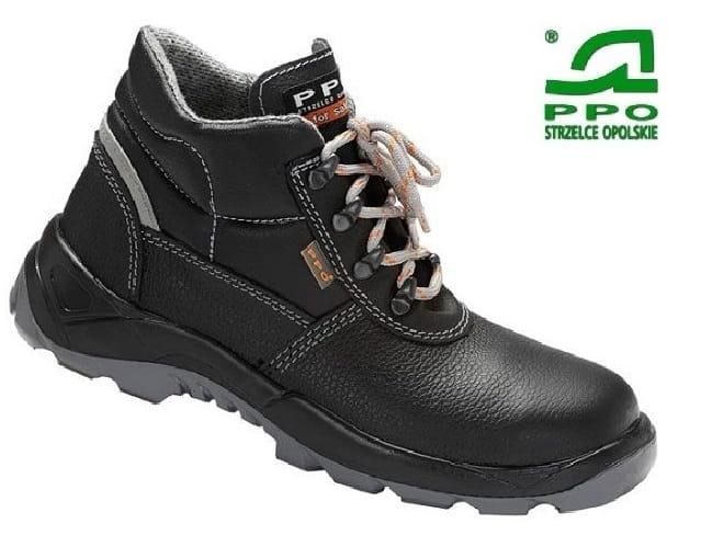 a087ff1663a45 PPO Strzelce Opolskie buty model 363 S3 SRC skórzane trzewiki ...