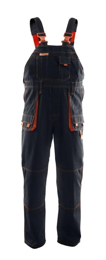 add15c8434c793 BRIXTON SPARK spodnie ogrodniczki robocze z bawełny, duże rozmiary ...