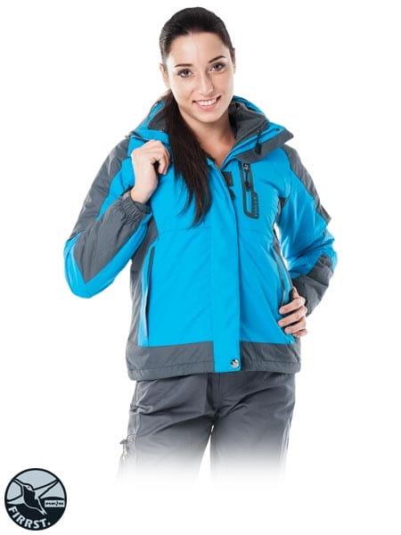 TREEFROG kurtka robocza ocieplana damska z odpinanym polarem